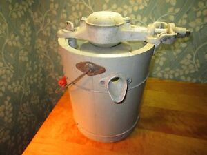 "vintage Ice Cream Maker ""Kitchen Aid"" from Troy Ohio as found Nice No Handle"