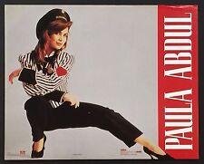 Music Pop Rock Paula Abdul Vintage Poster / Print 16 x 20