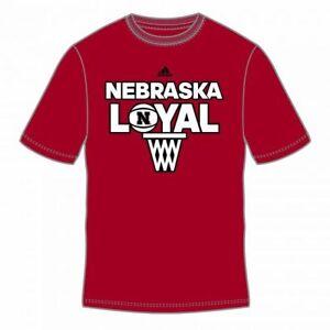 NEBRASKA CORNHUSKERS NCAA (LOYAL) POWER RED S/S TEE T SHIRT SIZES M L XXL NWT