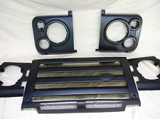 Land Rover Defender UPGRADES 90 110 130 TD5 GRILLE HEADLIGHT Lamp Surrounds SET
