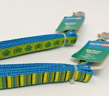 Lot of 2 Dog Leashes, 5 Feet Long for Small & Medium Dogs Up to 60 Pounds New