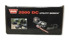 Warn 92000 2000 DC Utility Winch; 2,000lb w/35ft. Wire Rope w/Corded Remote