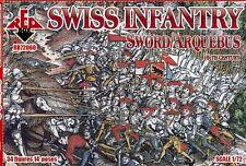 Red Box 1/72 Swiss Infantry (Sword/Arquebus) 16th Century # 72060