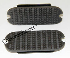 "CS  Double  Grip Strirrup Treads 4.75""  Black NEW"