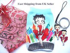 Kawaii Muy monos Betty Boop teléfono movil/MP3 Calcetíncharm & Llavero