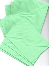 20 x C6/A6 PASTEL GREEN ENVELOPES FOR CARD MAKING / INVITES 100gsm gummed banker