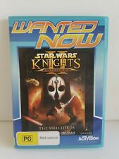 STAR WARS KNIGHTS OF THE OLD REPUBLIC, THE SITH LORDS - PC CD ROM - 4 DISCS - AU