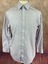 Charles Tyrwhitt Non Iron Classic Fit Shirt Purple Check Men's 15.5 33