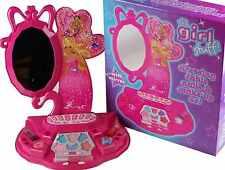 Filles maquillage set coiffeuse cosmétiques ongles miroir princesse rose cadeau jouet