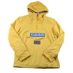 Vintage Napapijri Geographic Spell Out Jacket - M