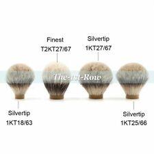 Silvertip Finest 100% Badger Hair 18mm 25mm 27mm Wet Knot for Shaving Brush Men
