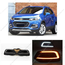 LED Daytime Running Light DRL Lamp w/Turn Signal o Fit For Chevrolet Trax 17-19