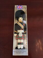Vintage British Military Palace Guard Soldier Christmas Ornament Euc