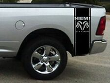 Truck Bed side stripe Hemi Ram 5.7 Liter decals Sticker Graphics
