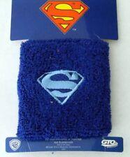 2 Superman Basketball Comics DC Cotton Sweat Band Sweatband Wristband Wrist Band