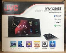 "JVC Car/Van CD DVD USB Double Din 2DIN Stereo Bluetooth iPod iPhone 6.2"" LCD"