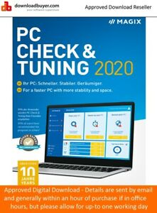 MAGIX PC Check & Tuning 2020 - [Download]