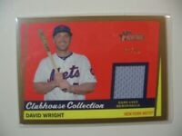 2016 Topps Heritage Clubhouse Collection game used jersey David Wright #ed 90/99