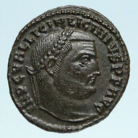 LICINIUS I Authentic Ancient 311AD Genuine Original Roman Coin JUPITER i83422