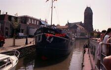 PHOTO  NETHERLANDS OUDEWATER 1992 BARGE DE HOOP 4 ALWIL
