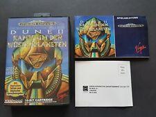 DUNE 2 !!! Neuwertig !!! OVP + Anleitung Sega Mega Drive