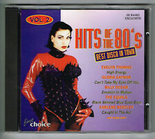 Musik CD HITS OF THE 80'S Best Disco in Town Vol. 2