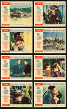 WAR AND PEACE Lobby Card Set 11x14 Inch Size V.Fine Movie Poster AUDREY HEPBURN