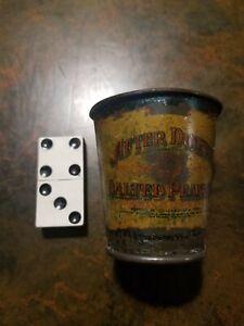 Vintage after dinner salted peanuts tin scoop