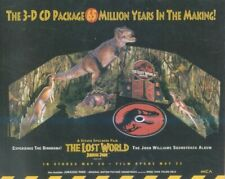 "(HFBK62) ADVERT/POSTER 13X11"" JURASSIC PARK : THE LOST WORLD"