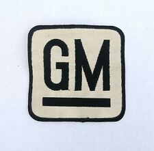 General Motors Sew on Patch