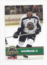 2003-04 Louisiana Ice Gators (ECHL) Josh Mizerek (Tilburg Trappers)