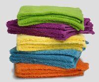 "Espalma Deluxe Brights Washcloths Bright Colors - 100% Cotton -  13""x 13""  - 2PK"