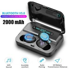 2020 Wireless Earphones TWS Bluetooth 5.0 Earbuds 2000mAh Waterproof Headphones
