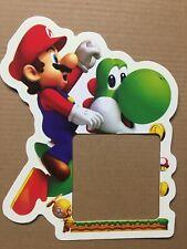 Glow in the Dark Super Mario Boys Room Light Switch Sticker Yoshi