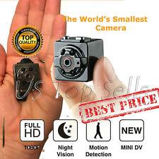 Wireless Hidden Spy Camera Mini HD 1080p Motion Detection Rechargable Nanny New