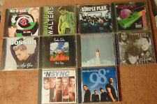 Lot of 10 Assorted Rock / Pop Rock Cds - Tori Amos Thompson Twins 98° +