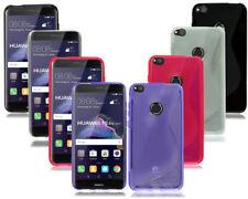 Cover e custodie nero Per Huawei Nova in silicone/gel/gomma per cellulari e palmari