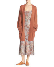 NWT Vince $425 100% Cashmere Cardigan in Fig; M
