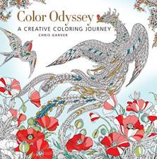 Chris Garver-Color Odyssey BOOK NEW