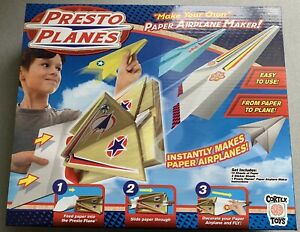 """Presto Planes Airplane Maker Set Ages 5+ for 2+ Players """"NEW"""" Free Shipping"""