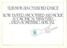 TRIUMPH SIX-CYLINDER RANGE MAY 1975 BROCHURE.
