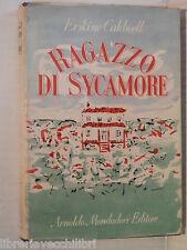 RAGAZZO DI SYCAMORE Erskine Caldwell Orfeo Tamburi Mondadori 1947 I ediz romanzo