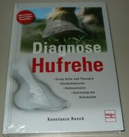Ratgeber Lehrbuch Diagnose Hufrehe Therapie Sanierung Anatomie Hilfe Buch Neu!