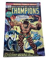 Champions #1 Volume 1 (1975-1978) Marvel Comics