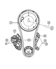 Genuine Mopar Timing Chain Guide 4893429AA