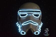 Stormtrooper Star Wars The Last Jedi RaveParty Halloween Costume Neon WHITE Mask