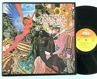 SANTANA - Abraxas 1981 Vinyl LP Album (Black Magic Woman) CBS 32032 VG+/VG+