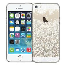 Protective Case Apple IPHONE 5 5S Se Silicone Mandala Cover