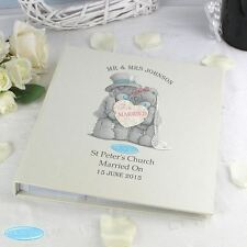 Me To You Personalised Wedding Photo Album with Sleeves - Tatty Teddy Bear