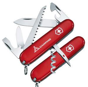 Victorinox - Couteau Suisse Camper Ou Camper Logo Rouge 14 Fonctions - 1.3613.x